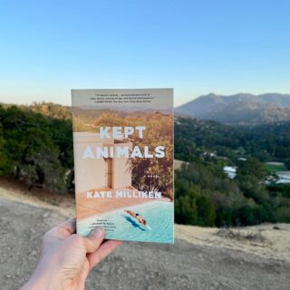 When my first book came out in 2013 my friend Melissa Cistaro asked me how I felt, if it was an amazing feeling (her debut would soon come out). I said, yes, it was great, but that it also had me breathless, winded, like reaching a mountain's summit. There was a sense of accomplishment but I was also already less aware of what I'd achieved and more aware of the next mountain in the distance, knowing I had to climb it. That next mountain being, of course, the next book. This book. Two mountains climbed and I'm looking at the third now. But what I didn't say to Melissa then, because I hadn't yet felt it, was that it gets so much less daunting, more enjoyable—the long stretch of valley between, the sudden incline, the aching legs—because of the friends you make along the way; the fellow climbers/writers, but even more so the readers whose presence you feel like hands at your back, steadying, encouraging, reminding you that the work is worth it.   This is all to say: thank you readers, thank you to everyone who texted, called, snapped a photo and shared it, making today feel so✨celebratory. Paperback pub day isn't like launch day, but when your actual launch day was in the early weeks of a pandemic being able to see a friend hold your book and being able to take your kids to sign stock INSIDE your local store, well, that feels like a gd party. I also want to give a special shout out to all the #bookstagrammers out there. Seeing KEPT find new readers is so fun and noticing those of you who've already read it saying kind things on those new posts…as I was saying, you make this journey a pure joy!! Thank you for the time and enthusiasm you lend to books and their authors! 🙏💕  And yes, how crazy is it that this new cover lines up so perfectly with my current mountain view! Discovered this completely by accident! Two totally different mountain ranges, but clearly meant to be. Now I just need a pool 🤔🏊♂️👌. If only I'd come up with a publishing books is exactly like swimming i