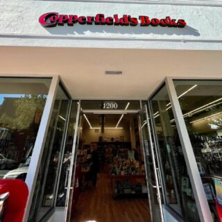 Just went into @copperfieldsbooks in their spiffy new San Rafael location and they had JUST sold a copy of Kept Animals. I was so thrilled I forgot to get a pic inside🤦🏻♀️ signing or of the little sticker. #socialmediafail ✨But there are now signed copies at @copperfieldsbooks San Rafael and at @bookpassage in Corte Madera. Thank you, booksellers! Hoping to get into  SF tomorrow to sign copies at @greenapplebooks and @books_inc! ✨  #keptanimals #signedcopy #paperbackrelease #bookclubbook #indiebookstore #buylocal