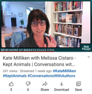 How was this one week ago? What is time? I had such an incredible conversation with @melissacistaro thanks to @bookpassage and @paulawritesreviews !! And it is available for any/all to watch now on their YouTube channel. Melissa and I have a truly wild story of intersection from our writing/riding lives, one that spans KEPT ANIMALS from its inception at the Topanga Canyon barn in 1993 to the character Melissa unknowingly inspired in 2015. In other words: this is like no other interview I could do. Thank you, Melissa, and thank you, Book Passage. Link in my bio for the full story (as well as me making various goofy faces and gesticulating a plenty). ☺️