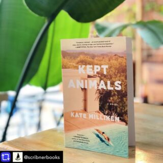 """Ooooh! A giveaway of the KEPT ANIMALS paperback is happening via @scribnerbooks. Rules and entry on their Insta feed! This edition has an excellent Book Club Guide so you know your book club wants it and I want to visit your book club, so win-win! Giveaway ends 7/27    ✨✨🌊🏊⛰🐎🌈 📸🔥✨✨  Repost from @scribnerbooks using repost_now_app - ☀️ Giveaway☀️ If you love a beautifully written, coming-of-age story with queer love (plus California and horses), you can't miss #KeptAnimals by @katemillikenwrites. It's coming out in paperback 8/3, and in the words of Marie Claire, """"this narrative burns slowly, building to a wildfire.""""  You can enter to win a copy by liking this post and tagging a friend. We'll pick 5 winners on July 28th to receive 2 copies each, for themselves and a friend! . . . No purchase necessary. Enter between 10:00am on 7/23 and 11:59pm on 7/27. Open to entrants who are 18 and older. Winners will be selected at random on or about 7/28. Odds of winning depend on number of eligible entries received. Open to residents of US and Canada. Void where prohibited or restricted by law. All times listed are in EST."""