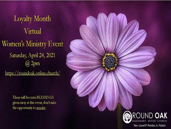 Women s Ministry Loyalty Monthv1