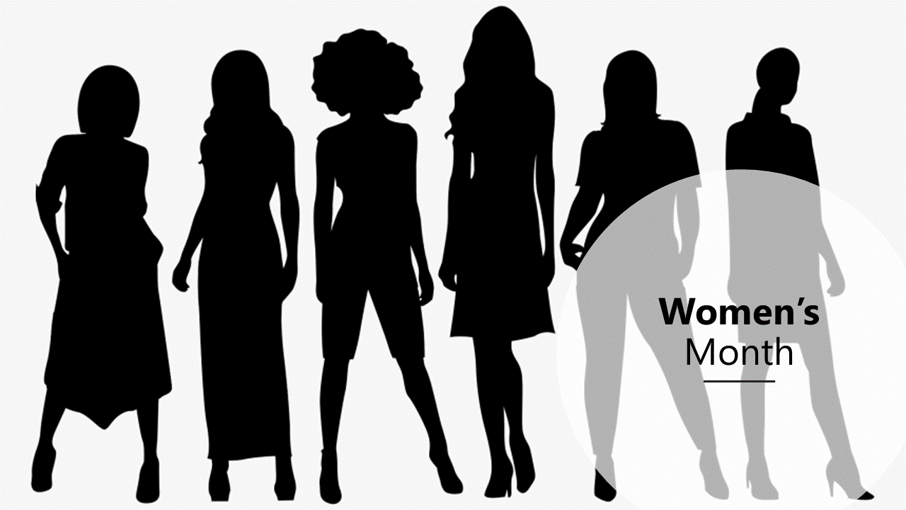 Women's Month Slide