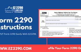 Form 2290 Instructions