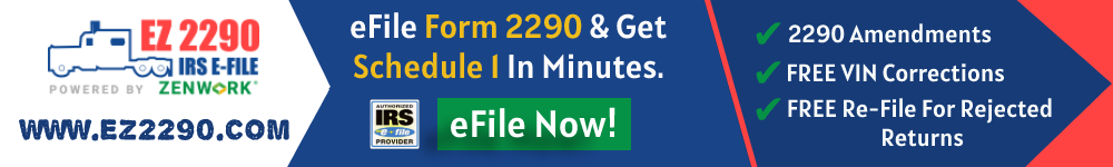 File Your Form 2290 With Ez2290