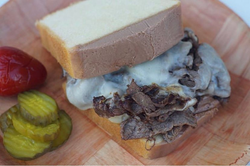 pound cake cheesesteak