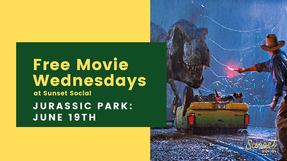 Free Summer Movies on the Roof - Jurassic Park