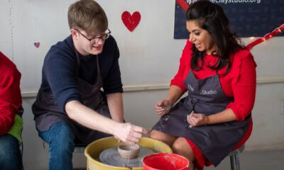 clay studio valentine's day