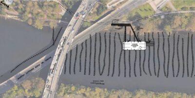 Philadelphia water department floating classroom. 2