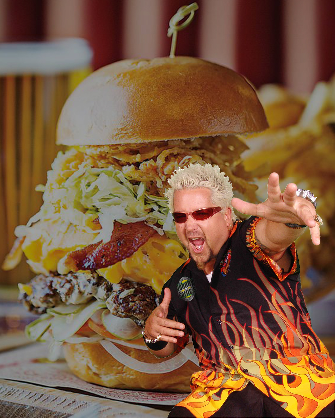 guy fieri burger