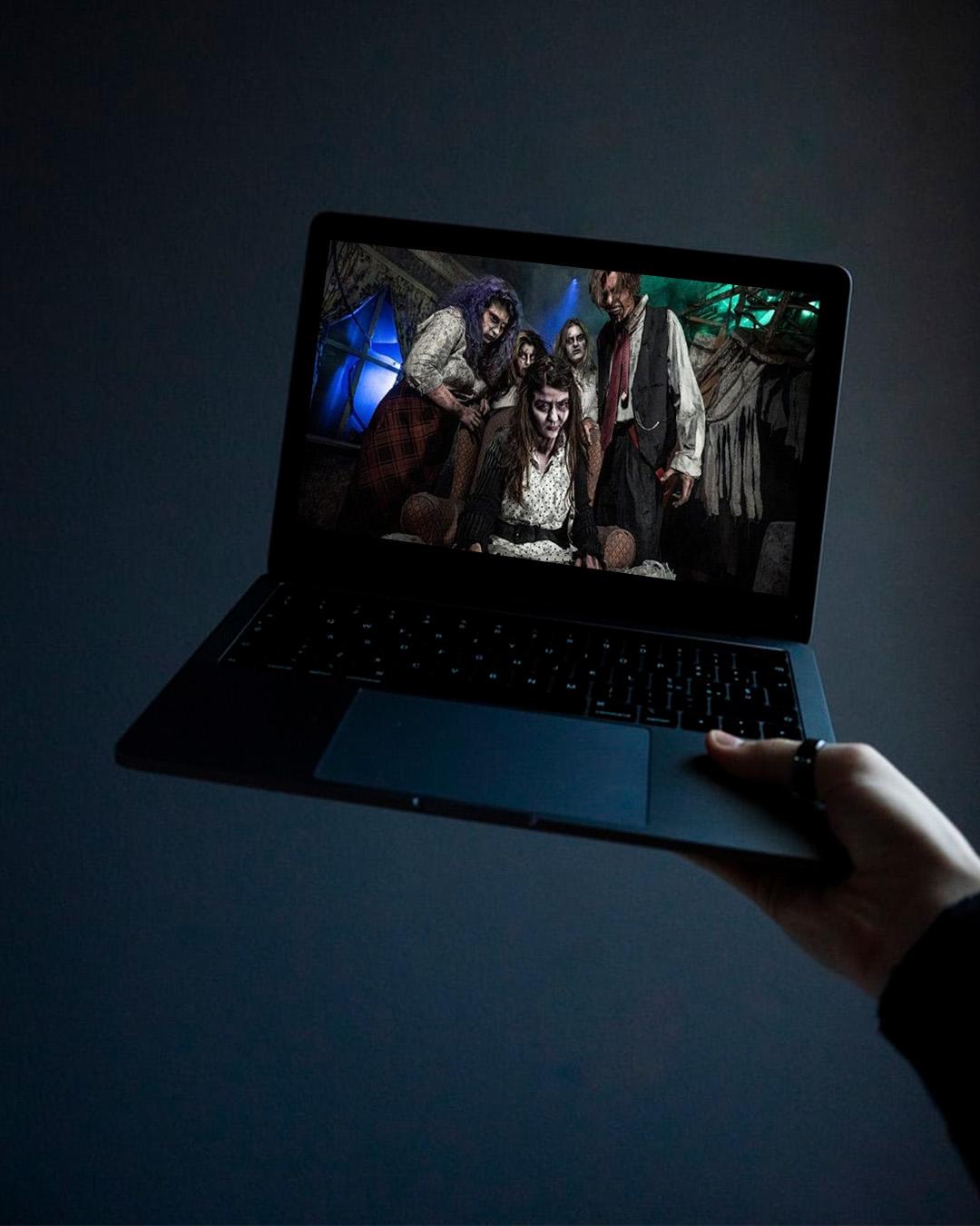 virtual halloween events