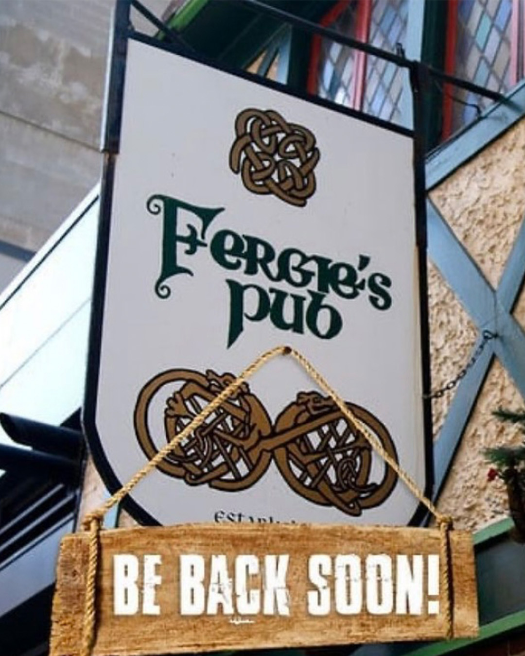 fergies pub closes
