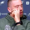zach ertz emotional