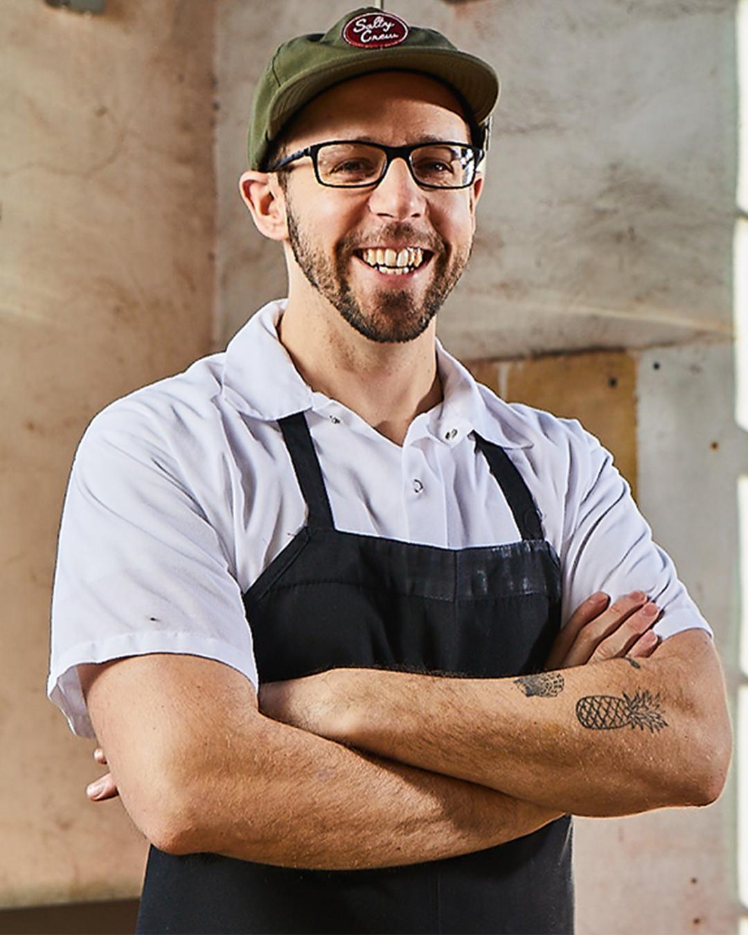 Chef Andrew Henshaw-laser wolf