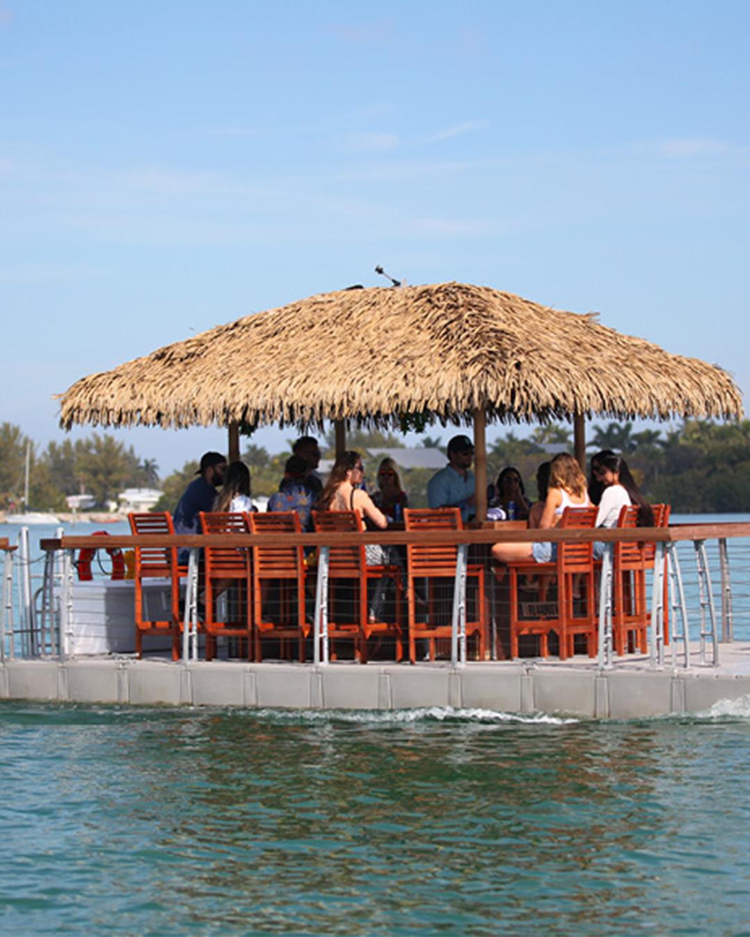 ocean city tiki boat tour
