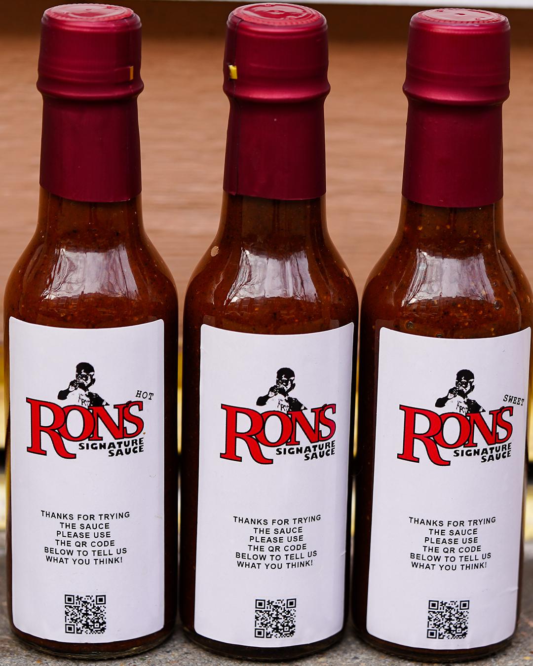 Ron's signature Sauce