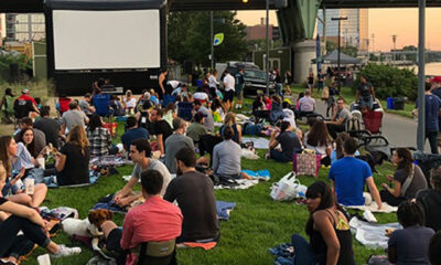Schuylkill Banks Outdoor Movie