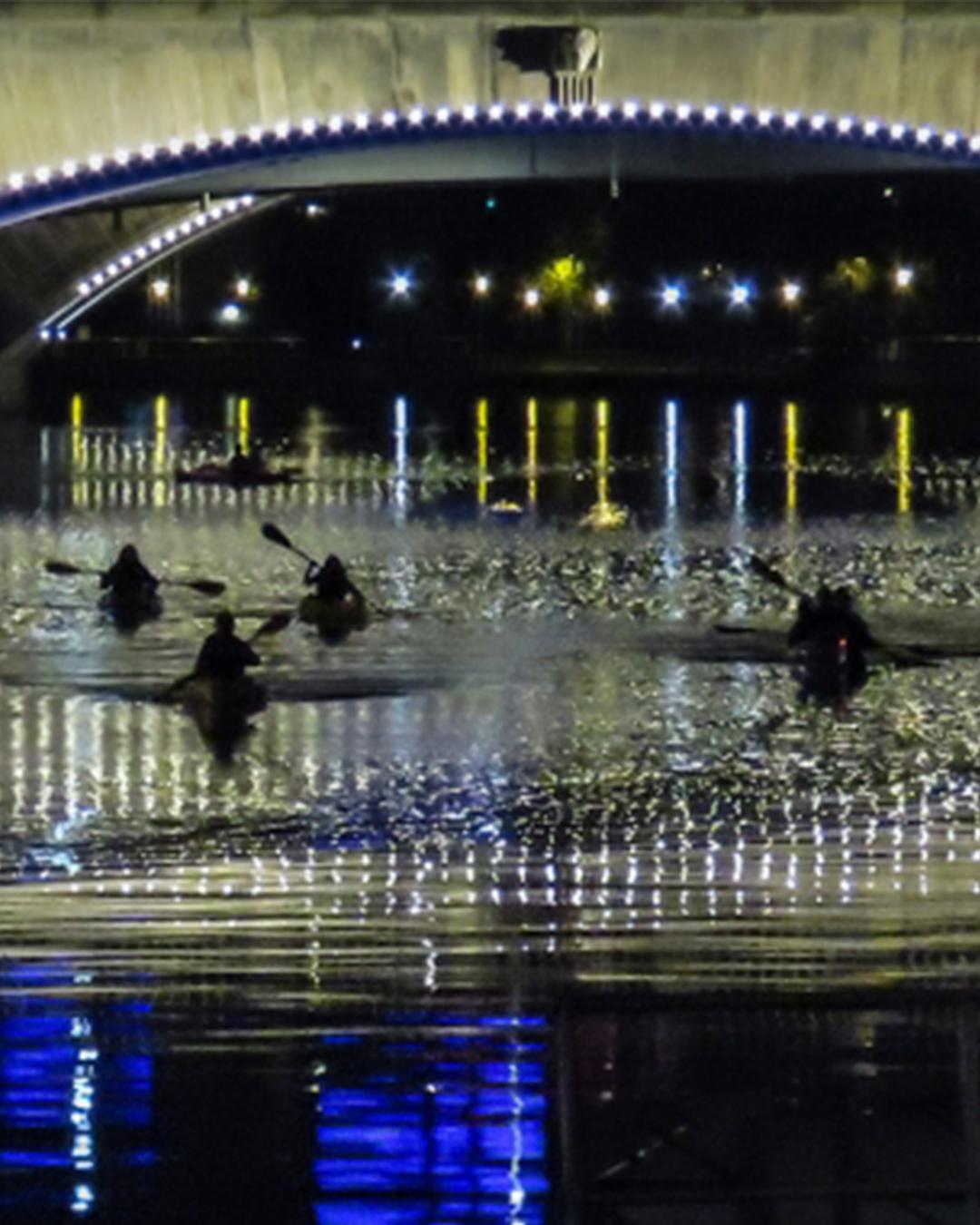 moonlight kayak tour