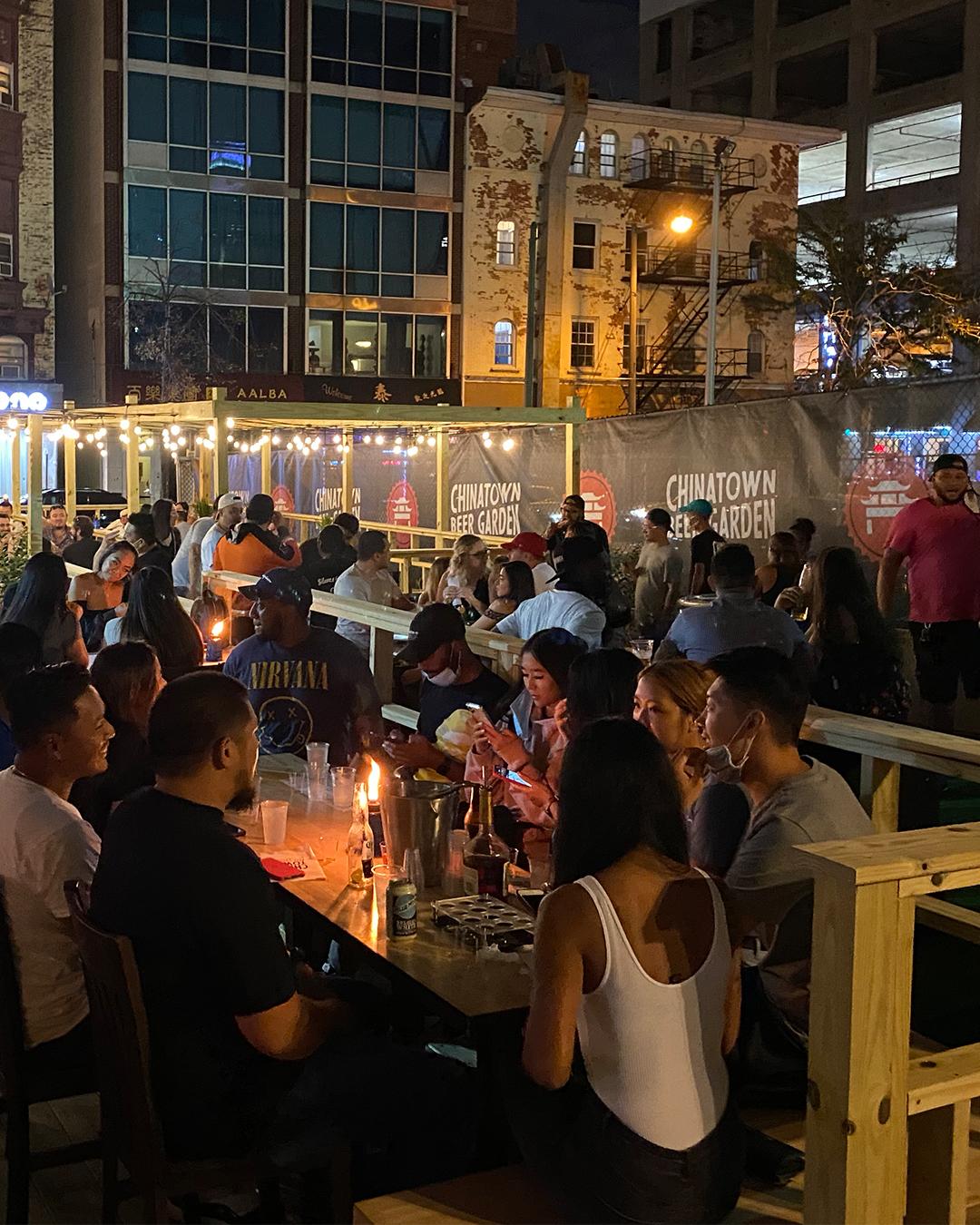 chinatown beer garden