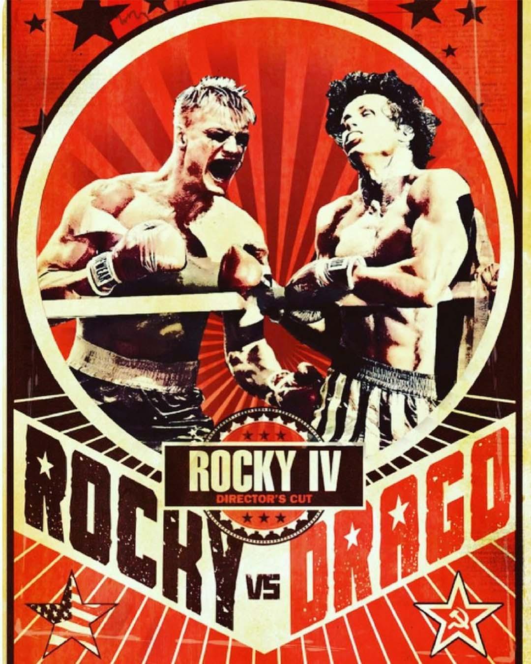 rocky Vs Drago
