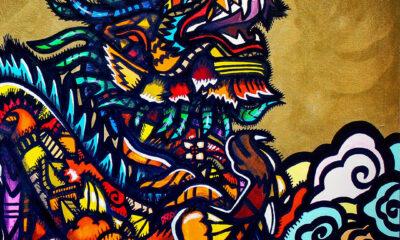 Celestial Beings Mural Festival