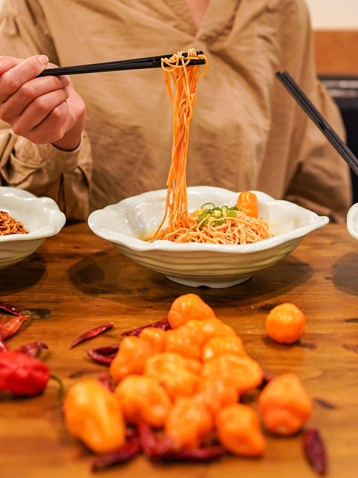 EMei spicy noodle challenge
