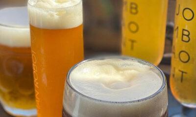 human robot beer