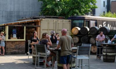 new liberty distillery cocktail garden