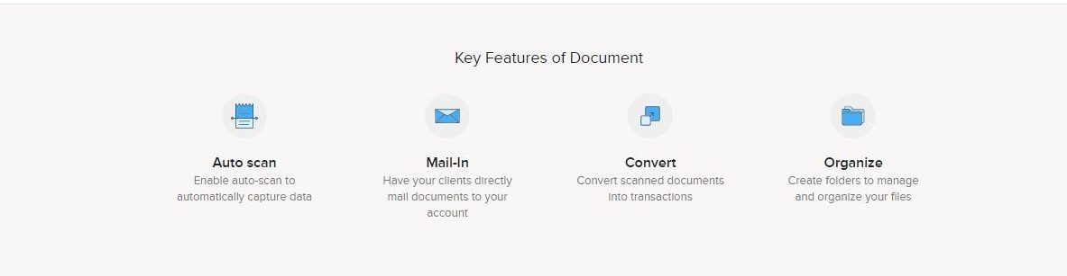 ZOHO AP AUTOMATION ON DOCUMENTS SCREEN