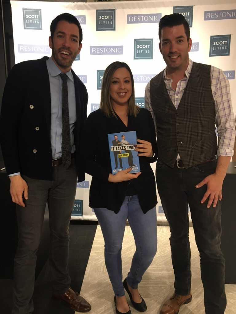 Jen With Property Brothers