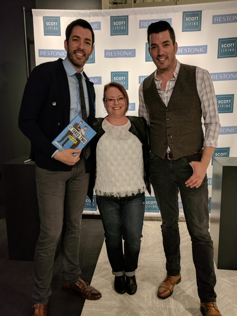 Sherrie With Property Brothers