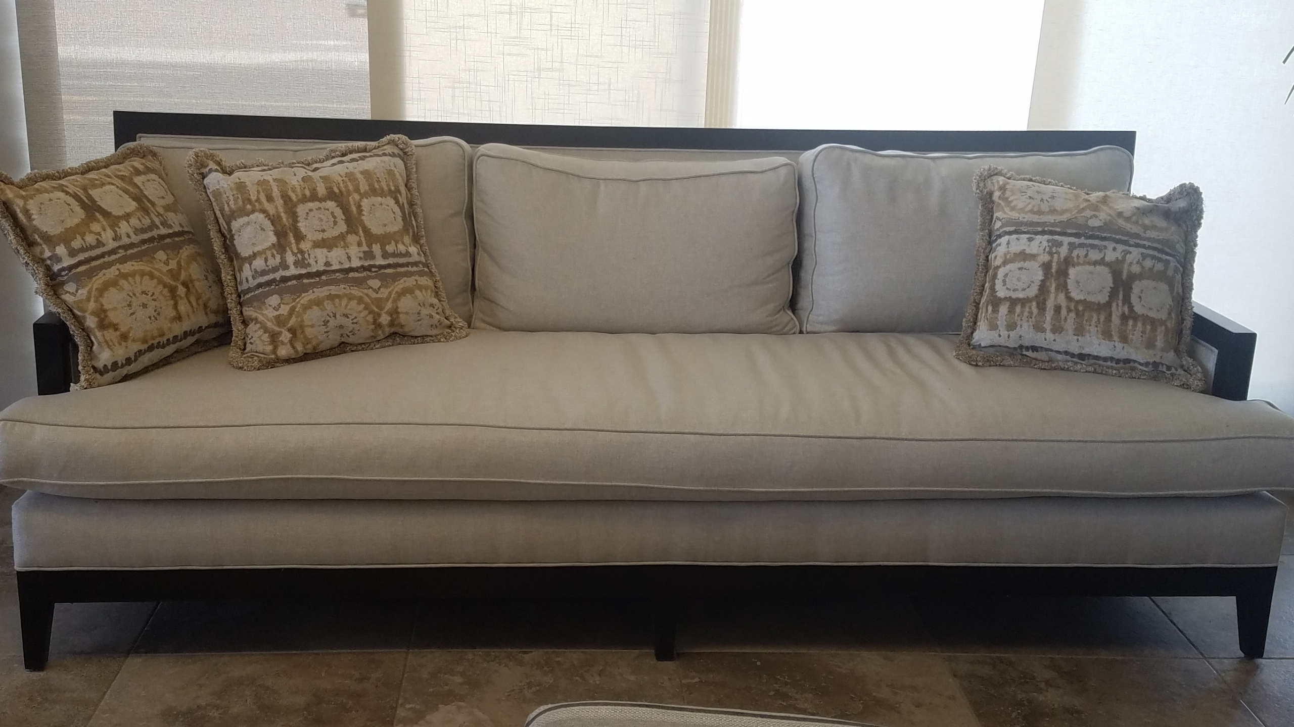 Sofa with Down Fill/Cushions