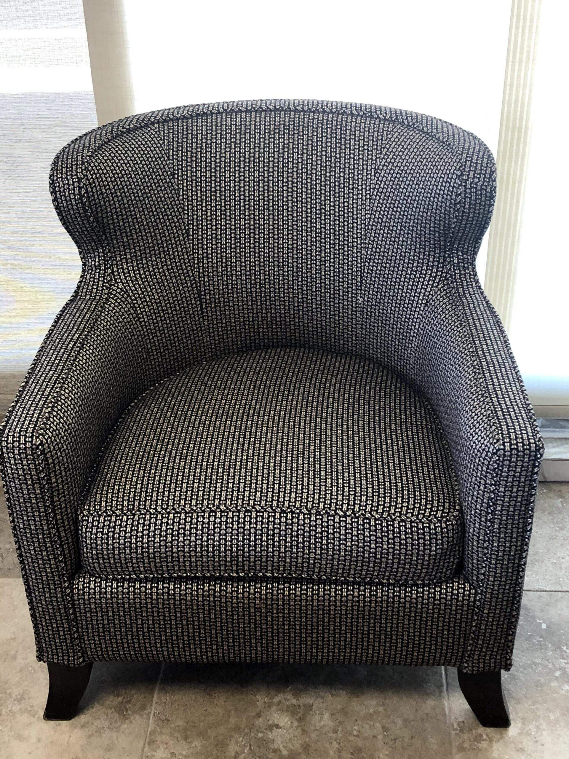 Black chair $175.00