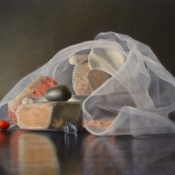 Catherine Lucas still life oil painting