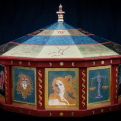 catherine lucas gilded rotating carousel