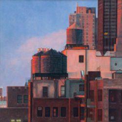 Catherine Lucas Oil Painting New York City Buildings