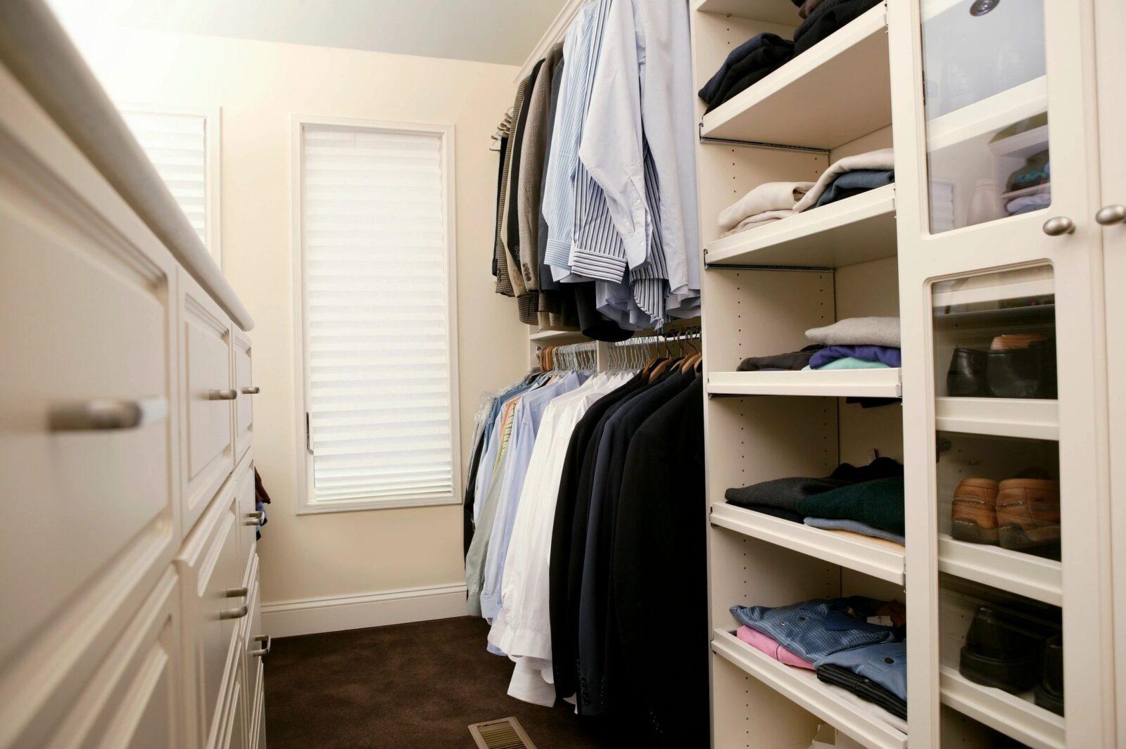 interior styling organization closet