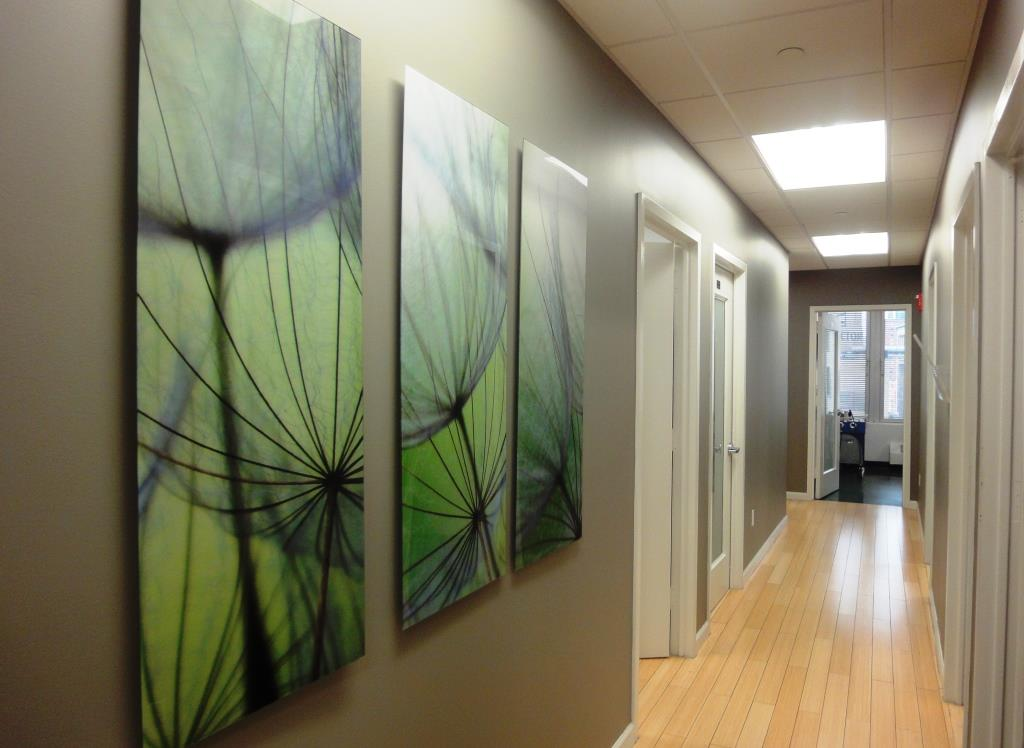 Modern Dermatology hall way 65 broadway suite 1100