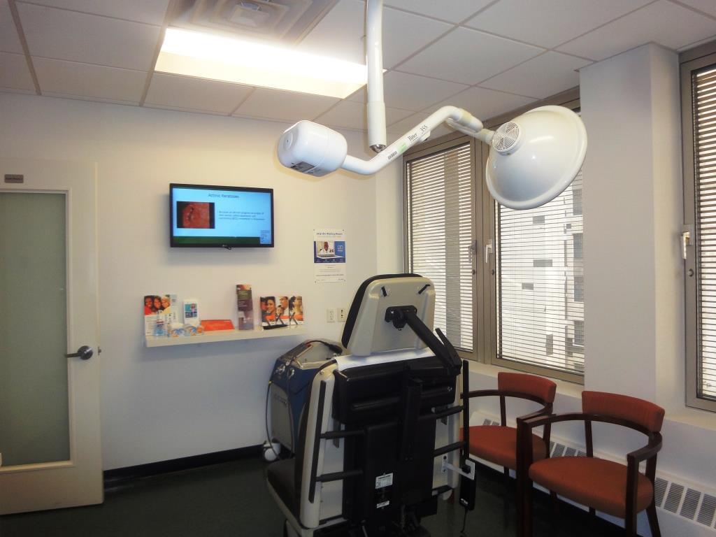 Modern Dermatology NYC Medical Room