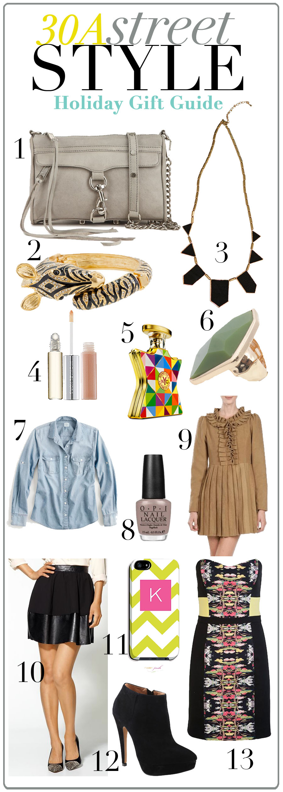 30A Street Style Holiday Gift Guide