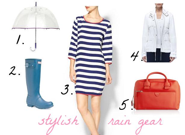 Stylish Rain Gear