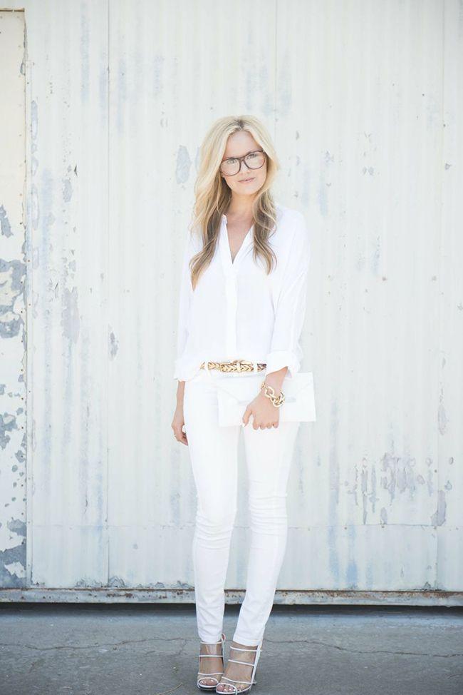 White on White Via Pinterest