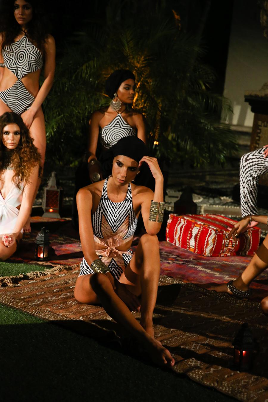* Mara Hoffman Resort 2016 Versace Moroccan 246