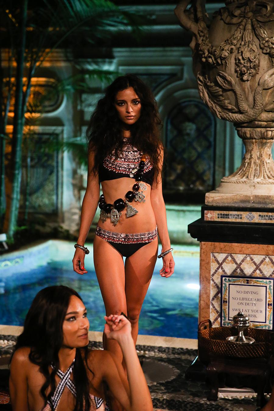 * Mara Hoffman Resort 2016 Versace Moroccan 248