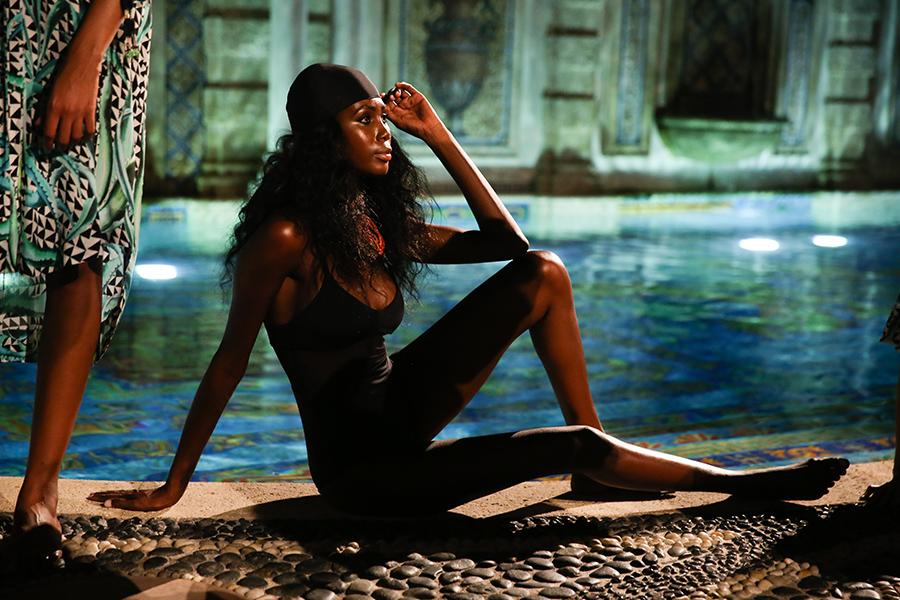 * Mara Hoffman Resort 2016 Versace Moroccan 253