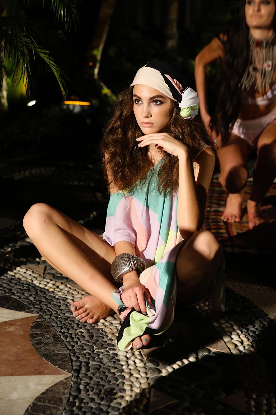 * Mara Hoffman Resort 2016 Versace Moroccan 256