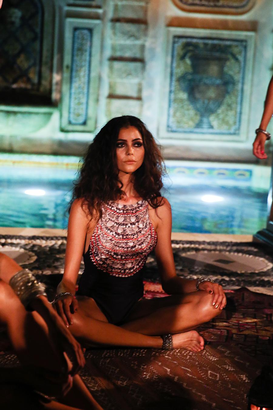 * Mara Hoffman Resort 2016 Versace Moroccan 264