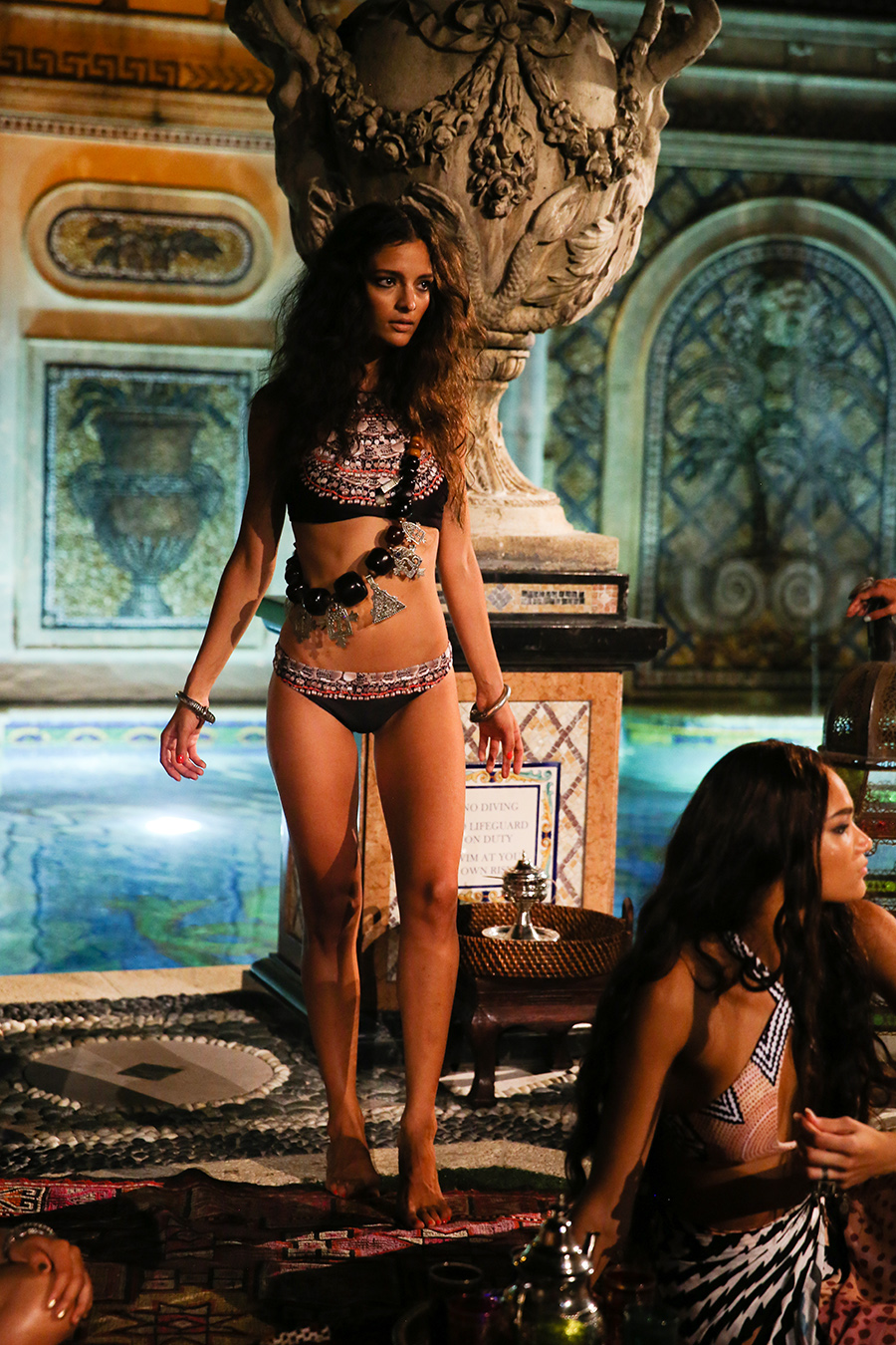 * Mara Hoffman Resort 2016 Versace Moroccan 265