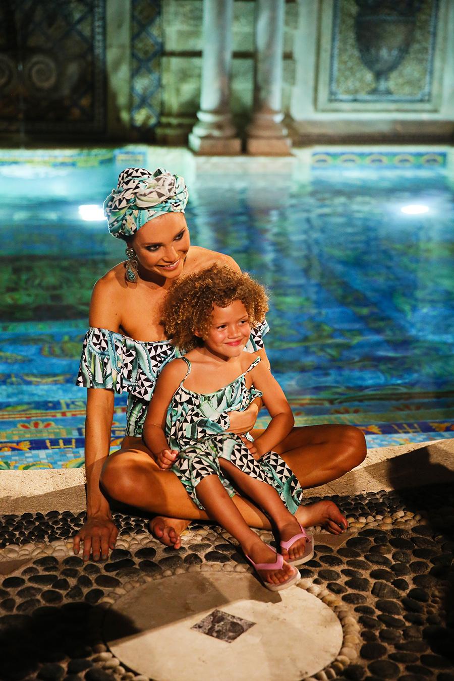 * Mara Hoffman Resort 2016 Versace Moroccan 276