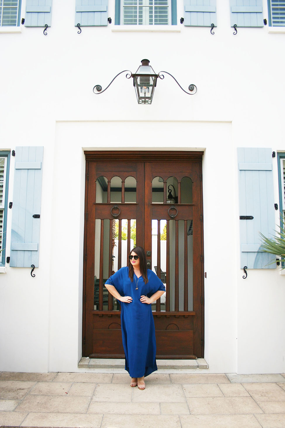 30A Street Style Alys Beach Caftan 1