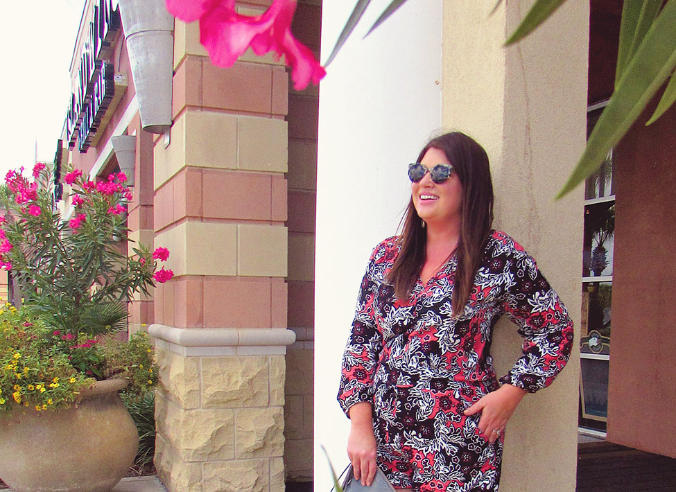 Fall Printed Romper 30A Street Style 5